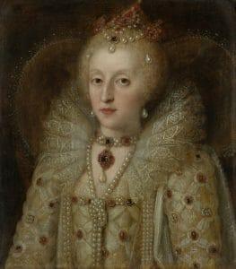 Queen Elizabeth painting